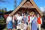 wizyta delegacji Oddziału Górali Śląskich w bacówce Czarny Dunajec, fot. Marek Stroński