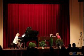 Zdjęcie z widowni na koncert