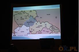 Mapa przedstawiająca Stronę Czechosłowacka w 1928-1938 roku