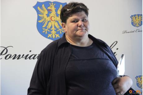 Maria Juroszek oddaje swój medal na licytację - pomoc dla chorego Remika / fot. OX.PL