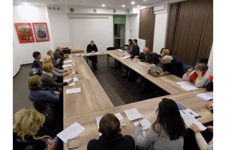 Zdjęcie z grudniowego spotkania Akademii Filozoficznej. Fot. KR/ox.pl