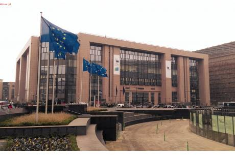 Siedziba Rady Unii Europejskiej w Brukseli. Fot. KR/ox.pl
