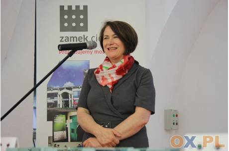 Ewa Gołębiowska, dyrektor Zamku Cieszyn fot arc.ox.pl: (indi)