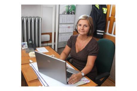 Komendant Straży Miejskiej w Wiśle - Beata Miś. Fot: arc. ox.pl