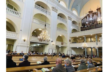 Uroczyste nabożeństwo z okazji 312 rocznicy wyznaczenia miejsca pod budowę Kościoła Jezusowego  /fot. MSZ