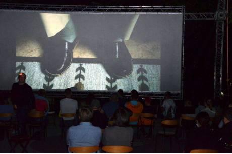 Kino plenerowe w Skoczowie. fot. ARC OX.PL