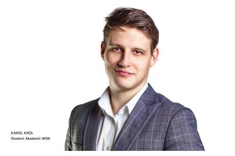 Karol Król – student Akademii WSB