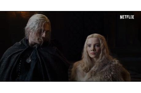 """Screen z teasera drugiego sezonu serialu """"Wiedźmin"""", prod. Netflix."""
