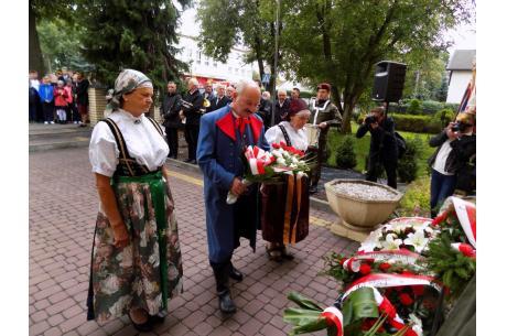 Na co dzień w Strumieniu o pamięci bohaterek przypomina m.in. Macierz Ziemi Cieszyńskiej. fot ARC