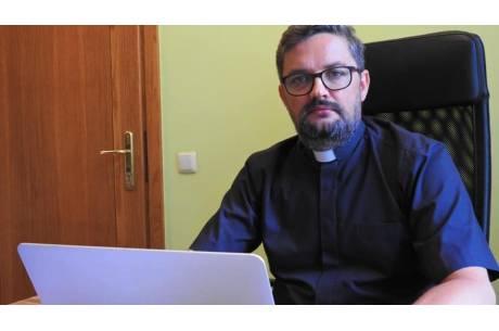 ks. Piotr Hoffman fot. diecezja.bielsko.pl
