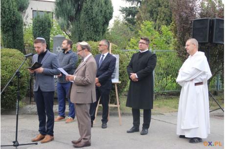 82. rocznica spalenia synagogi w Ustroniu / fot. MSZ