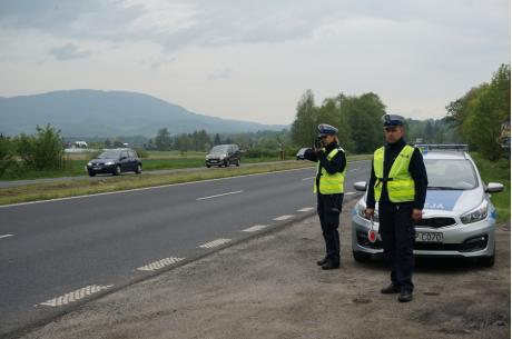 Policjanci drogówki Fot: arc. KPP w Cieszynie