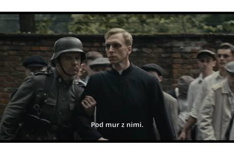 """Kadr z filmu Wyszyński – ZEMSTA CZY PRZEBACZENIE"""""""