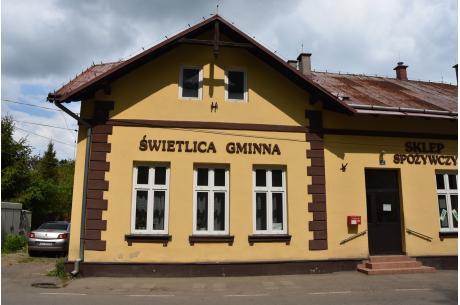 Świetlica gminna w Cisownicy, zdjęcie z maja 2020. Fot. UG Goleszów