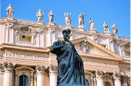 Biskupi szykują się na wizytę w Watykanie. fot. ARC