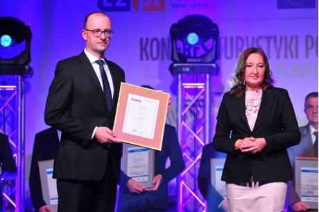 Grzegorz Sikorski podczas Kongresu Turystyki Polsko-Czeskiej