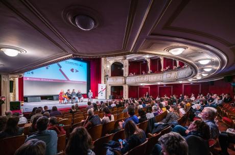 Kino na granicy. Fot: arc. organizatora