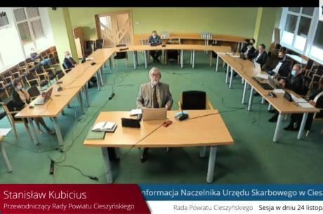 źródło: powiatcieszynski.esesja.pl (kliknij, aby przejść do transmisji sesji)