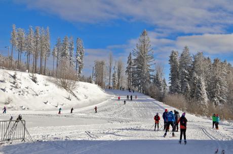 Trasy biegowe na Kubalonce, fotografia z 15 stycznia br. / fot. UG Istebna