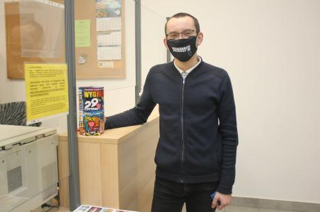 W obiektach Starostwa Powiatowego w Cieszynie prowadzona jest zbiórka na rzecz WOŚP / fot. mat.pras.