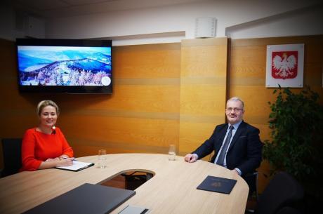 O inwestycjach i nie tylko… - rozmowa ze Starostą Cieszyńskim