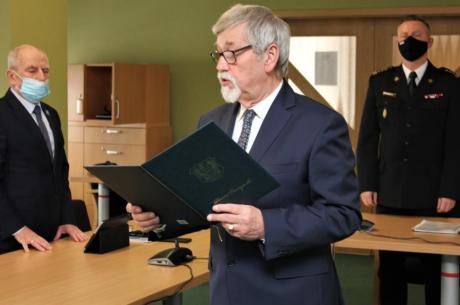 Stanisław Kubicius, Przewodniczący Rady Powiatu Cieszyńskiego