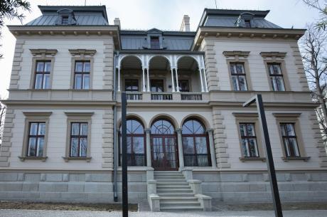 Galeria dla widzów w Willi Sixta. Fot: BWA
