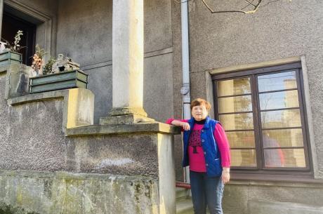 Elena Chefranova z Moskwy znalazła swoje miejsce na ziemi w Cieszynie / fot. MSZ