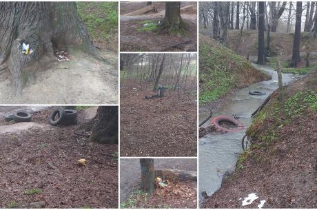 Zdjęcia odpadów pozostawionych w lasach otaczających Jaworze, nadesłane do Urzędu Gminy przez Kubę - ucznia Szkoły Podstawowej nr 1 w Jaworzu. Źródło: facebook.com/radoslaw.g.ostalkiewicz