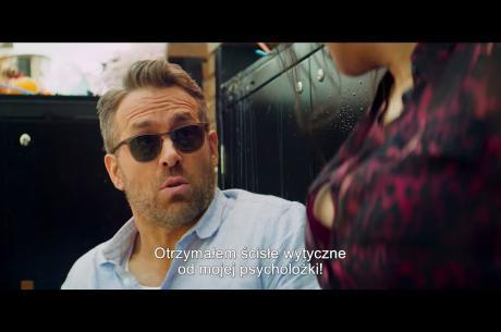 Kadr z filmu BODYGUARD I ŻONA ZAWODOWCA