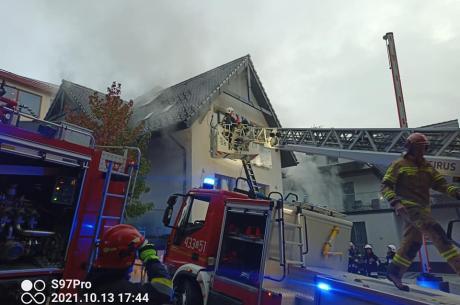 Zdjęcia z akcji OSP JAWORNIK