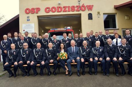 Zjazd Oddziału Gminnego OSP RP w Godziszowie. fot. Goleszow.pl