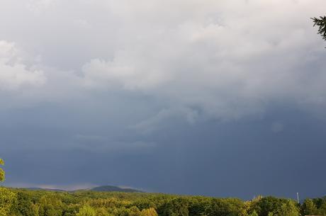 Wiatr i burze to prognozy na najbliższe dni. fot DK