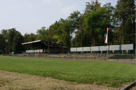 Stadion Miejski przy al. Jana Łyska. Źródło: sport.cieszyn.pl