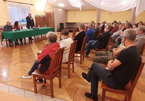 Zebranie Wiejskie w Drogomyślu. Fot: mat. pras.