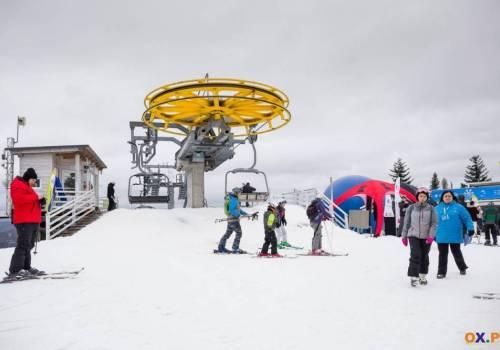 Zdjęcie z inauguracji sezonu narciarskiego 2019/2020, która odbyła się w Wiśle 4 stycznia br. / Fot. arc.ox.pl