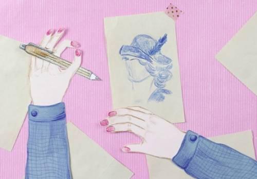 kadr z filmu dotyczącego modystek