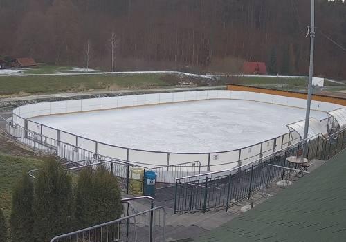 Przygotowanie trwają fot. (obraz z kamery www.brenna.pl)