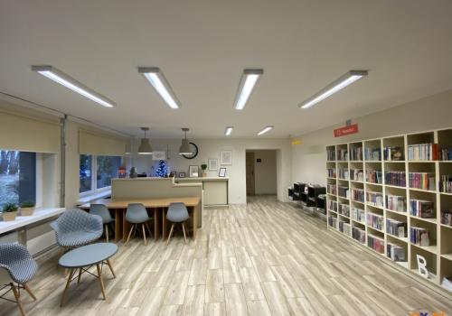 Wyremontowana biblioteka czeka na lepsze czasy  / fot. MSZ