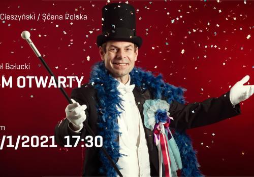 Grafika ze strony teatru w Czeskim Cieszynie