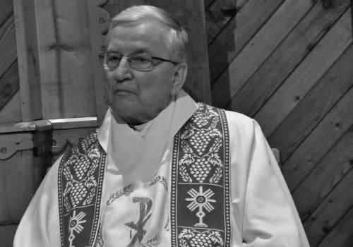 Śp.Ks. Prał. Jerzy Palarczyk fot. diecezja bielsko-żywiecka