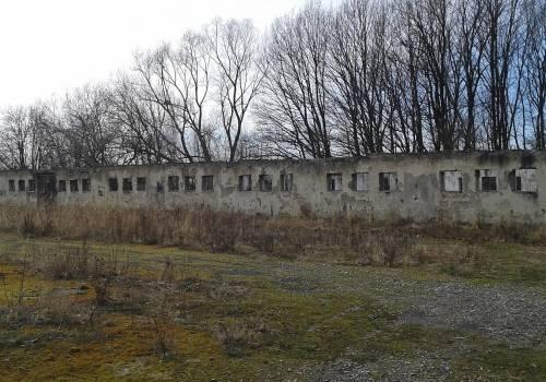 Były teren PGR w Kończycach Wielkich. Fot: PL/arc.ox.pl