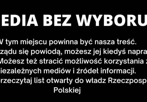 Grafika pojawiająca się w wielu portalach internetowych i stacjach telewizyjnych. Źródło: gazeta.pl
