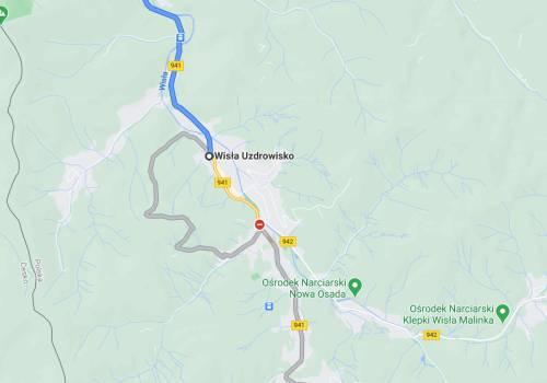 błędna informacja z Google Maps