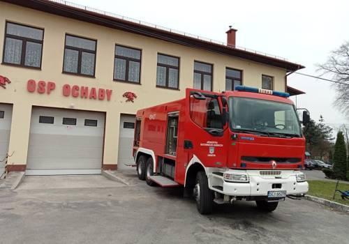 fot. OSP Ochaby