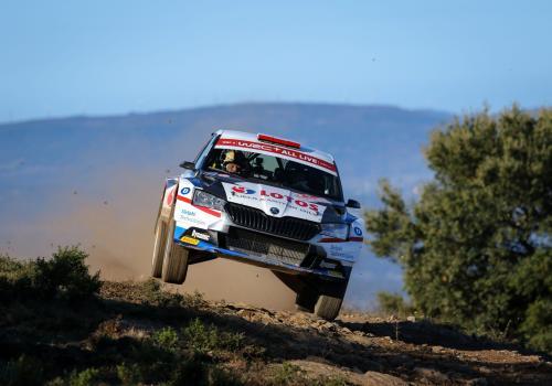 Załoga LOTOS Rally Team podczas Rajdu Sardynii w 2020 roku, fot. kajto.pl/mat. pras.