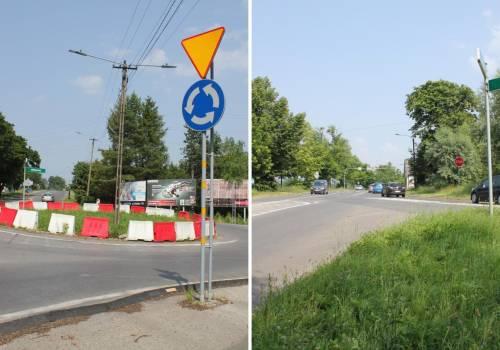 Będą dwa ronda. fot. powiat cieszyński