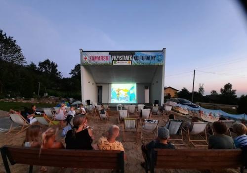 Seanse filmowe będą miały miejsce na terenie Folwarku, w Parku Zamkowym w Kończycach Wielkich oraz w Parku w Zamarskach / fot. mat.pras.