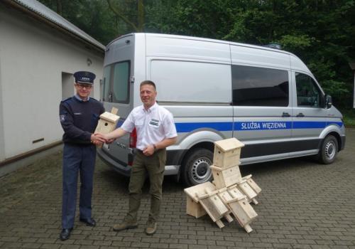 Budki trafiły do Nadleśnictwa Ustroń. Źródło: sw.gov.pl