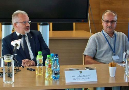 Mieczysław Szczurek i Dariusz Tessar. Fot. KR/Ox.pl